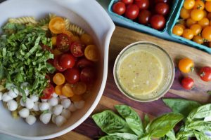 caprese salad bone broth