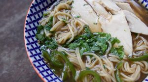 leftover turkey bone broth ramen