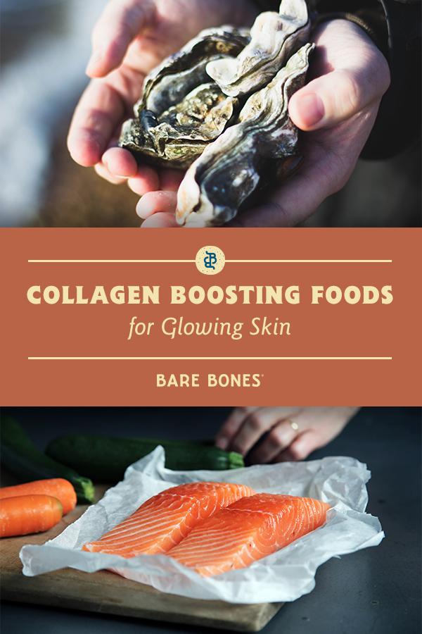 how to get collagen in your diet, collagen boosting foods