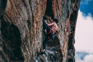 Collagen Health Benefits Muscles Man Climbing