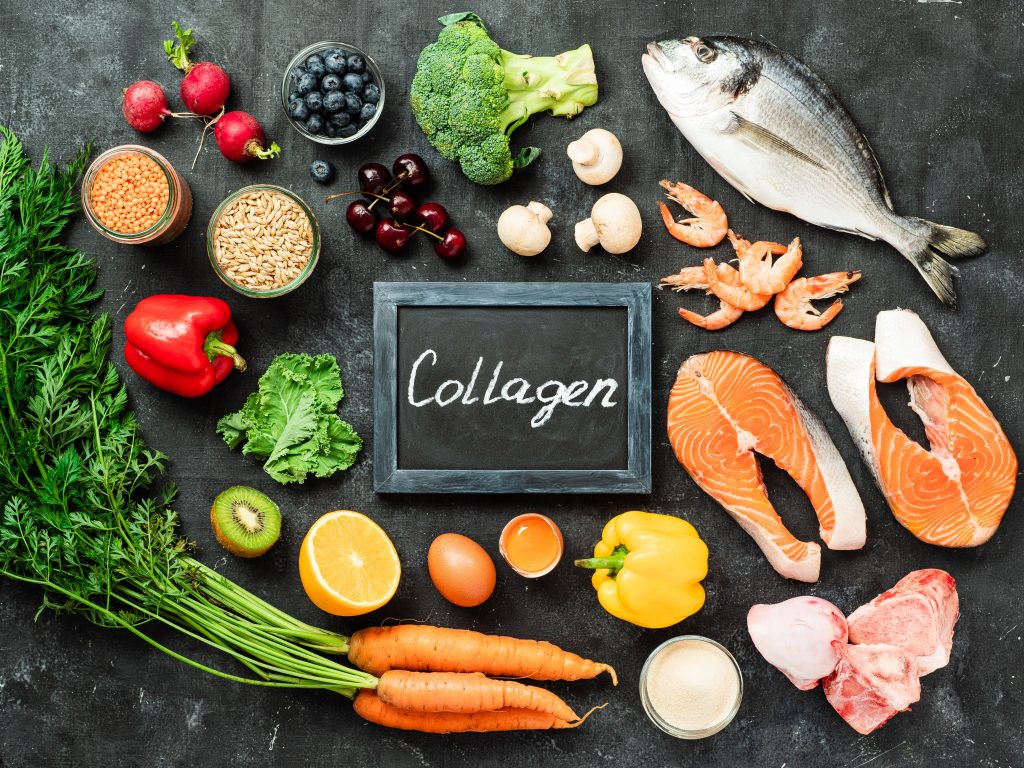Collagen Promoting Foods, collagen health benefits