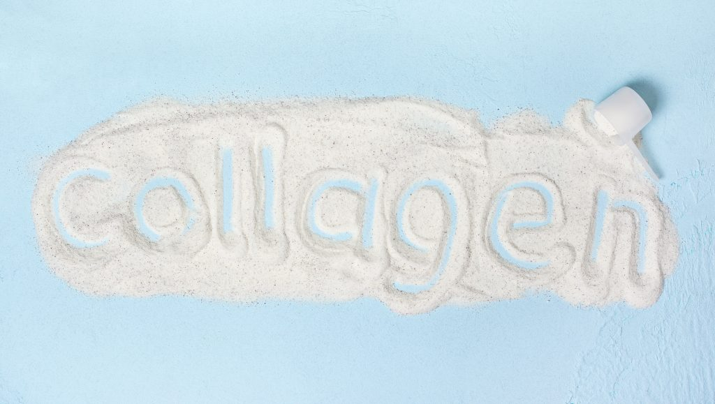 Collagen written in Collagen Powder, collagen health benefits