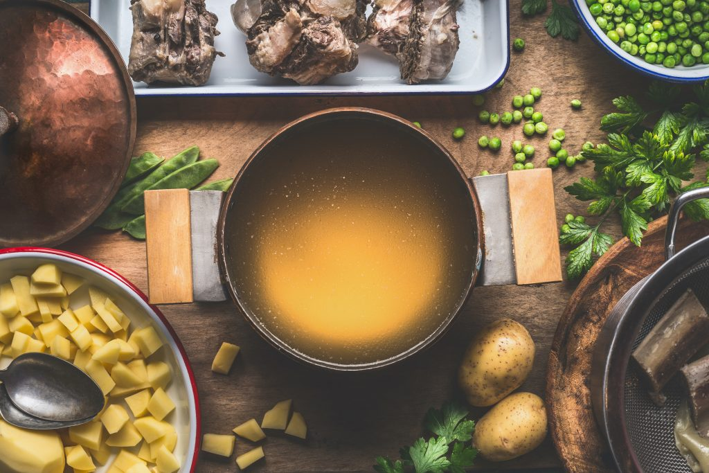 bone broth for a leaky gut diet