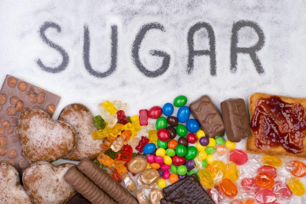 excess sugar consumption collagen