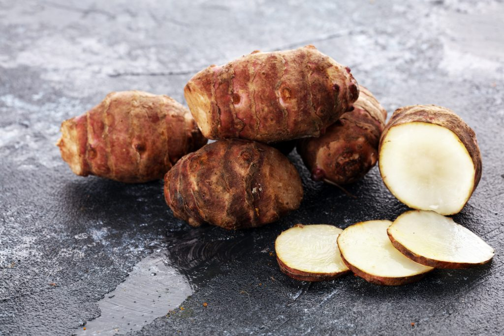 Jerusalem artichokes prebiotic foods for a healthier guT