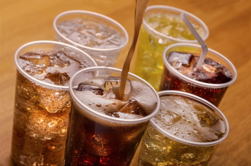 what causes bloating carbonated drinks