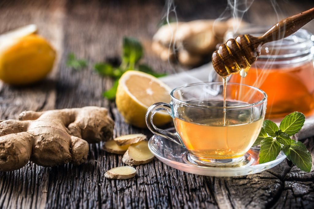 peppermint ginger tea how to reduce bloating